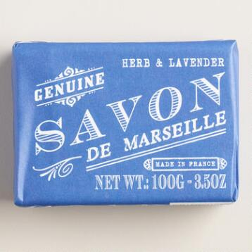 Savon De Marseille Herb & Lavender Bar Soaps, Set of 2