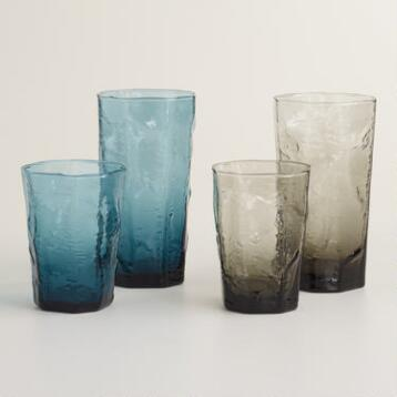 Organic-Style Glasses, Set of 4