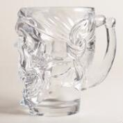 Skull Glass Steins, Set of 2