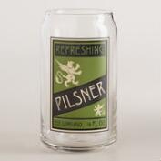 Pilsner Pint Glasses, Set of 4