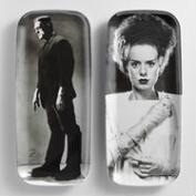 Bride and Frankenstein Rectangular Platter