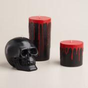 Black Bleeding Candles