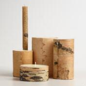 Birch Bark Candle