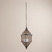 Bronze Wire Hanging Lantern