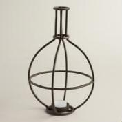 Metal Bottle Tealight Candleholder
