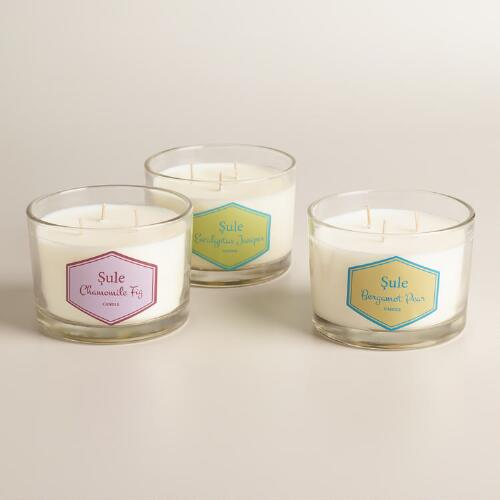 Sule 3-Wick Scented Jar Candle