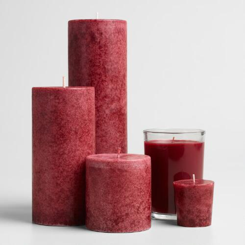 Portuguese Pomegranate Candles