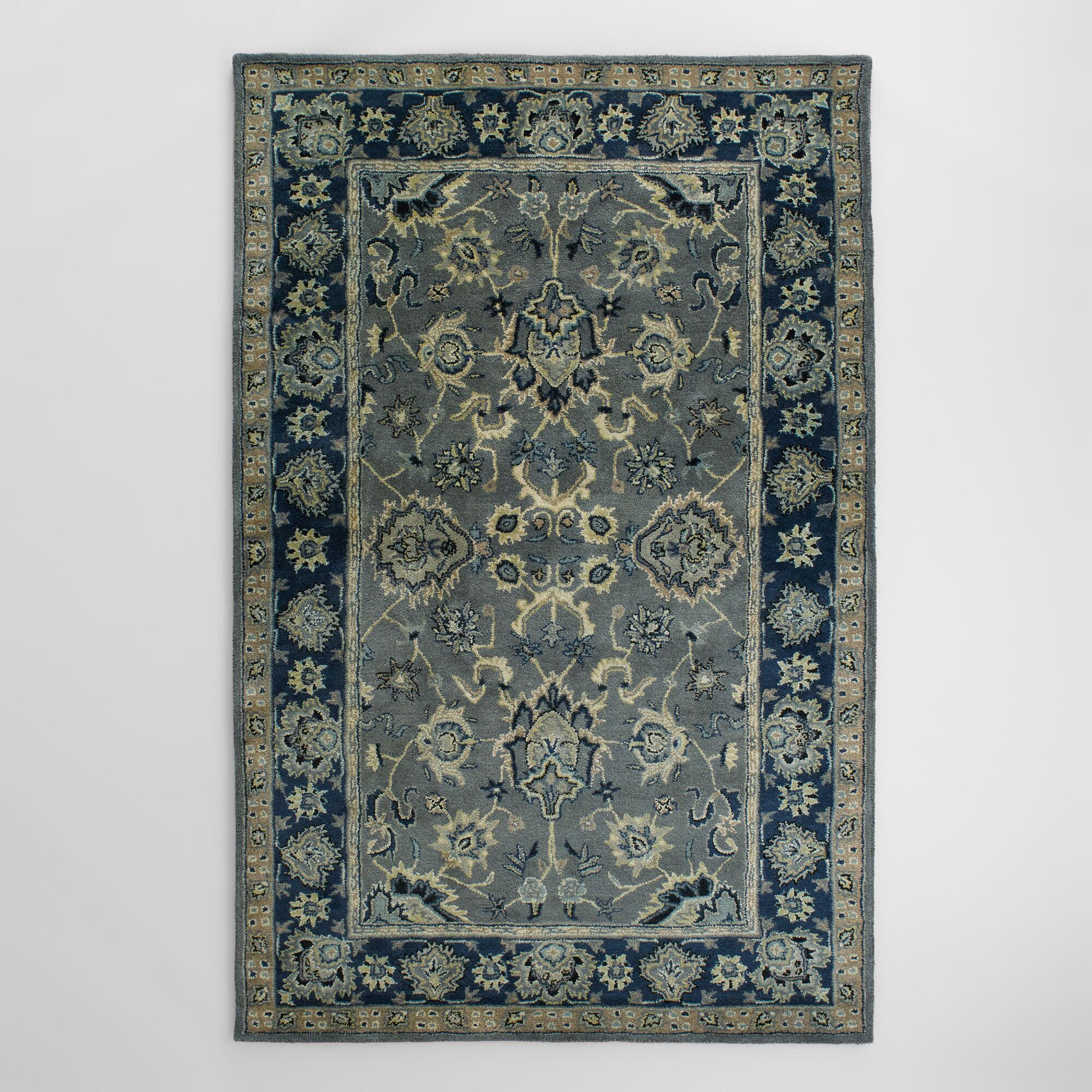 Petra Agra Tufted Wool Area Rug World Market