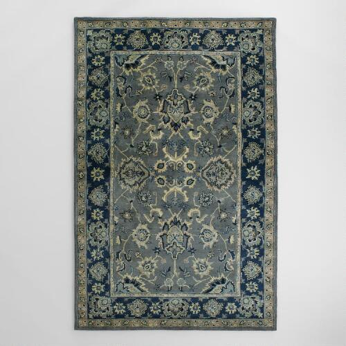 Petra Agra Tufted Wool Area Rug