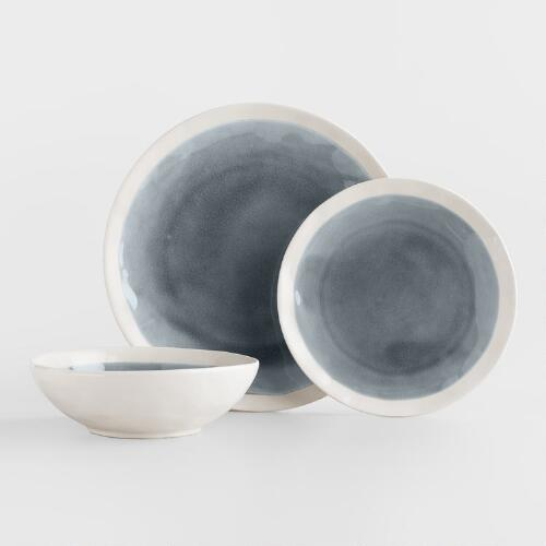 Gray Henley Dinnerware