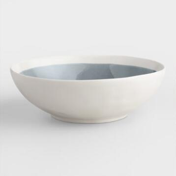 Gray Henley Bowls, Set of 4