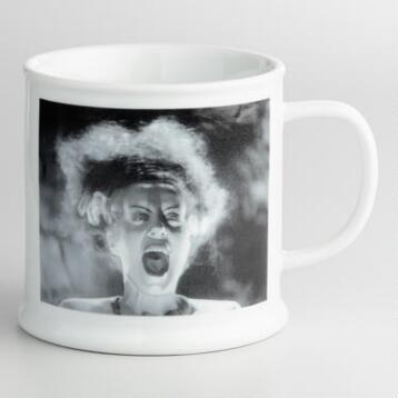 Bride of Frankenstein Mugs, Set of 4