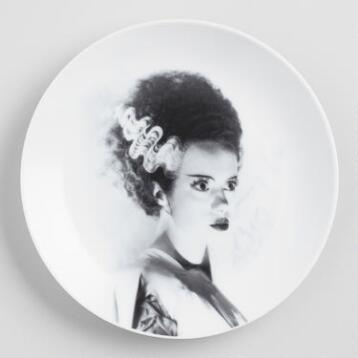 Bride of Frankenstein Plates, Set of 4