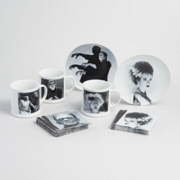 Universal Monsters Mug and Plate Collection