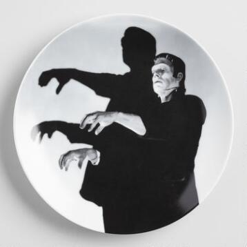 Frankenstein Plates, Set of 4