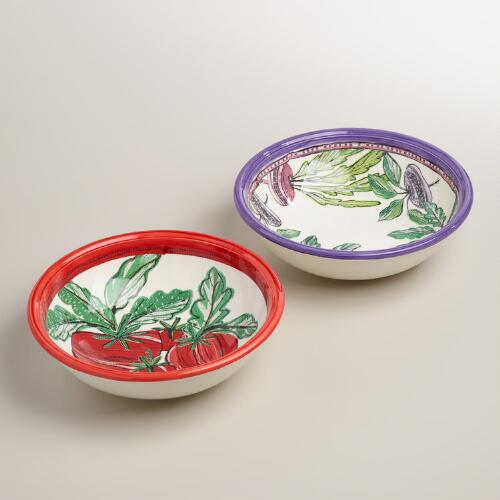 Large Primavera Bowls, Set of 4