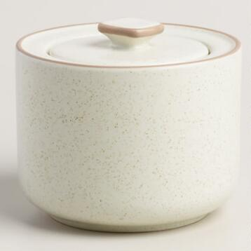 Mid-Century Sugar Pot