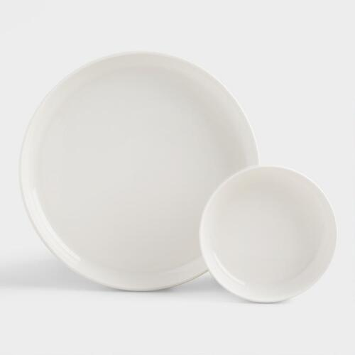 Shallow Serving Plates, Set of 2