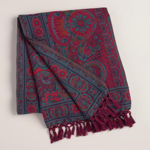 Baroque Jacquard Throw