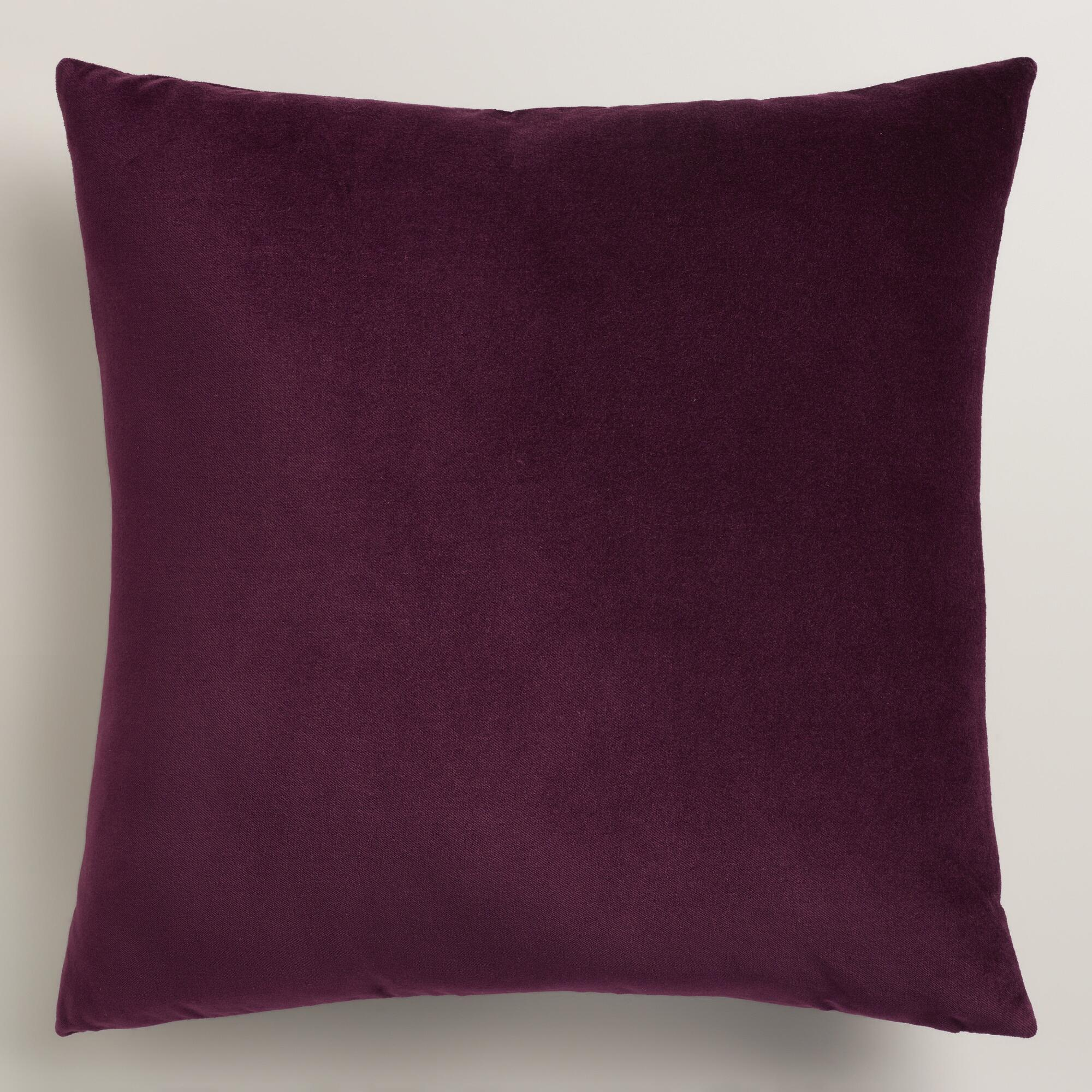Purple Velvet Decorative Pillows : Our Local Ad Wish List Blog World Market Explorer #DISCOVERWORLDMARKET Inspiration