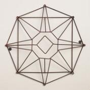 Wire Star Wall Earring Holder