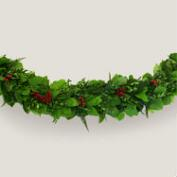 Live 6' Festive Red Berry Garland