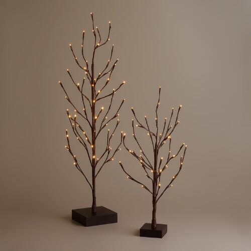 LED Battery Operated Holiday Tree Collection