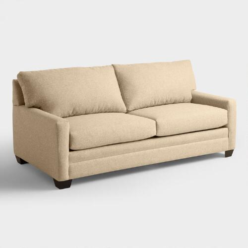 Chunky Woven Holman Upholstered  Sleeper Sofa
