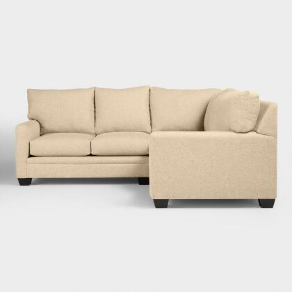 Chunky Woven Holman  Upholstered Right-Facing Sectional