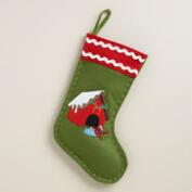 Doghouse Pet Stocking