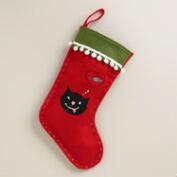 Dreaming Cat Pet Stocking