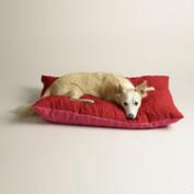 Fuchsia and Red Dog Bone Cargo Pet Bed