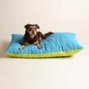 Blue and Green Dog Bone Cargo Pet Bed