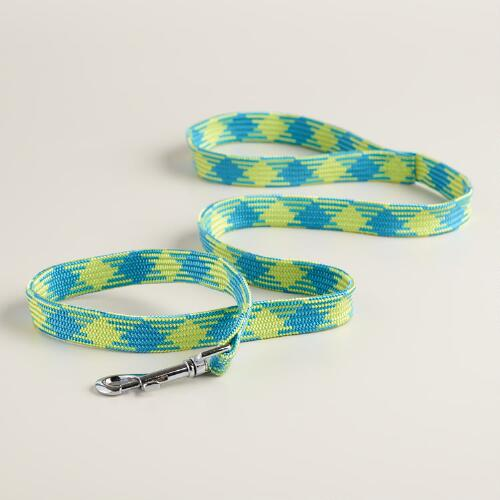Blue and Green Dog Leash