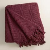 Fig Chunky Chenille Throw