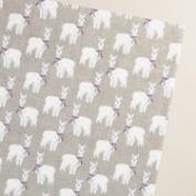 Alpaca Burlap Kraft Wrapping Paper Roll