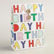 Happy Birthday Gift Bags, 2-Pack