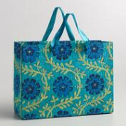 Large Blue Helena Handmade Gift Bag