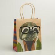 Medium Hipster Sloth Gift Bags, Set of 2