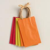 Small Kraft Gift Bags, 6-Pack