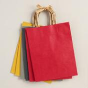 Medium Kraft Gift Bags, 6-Pack