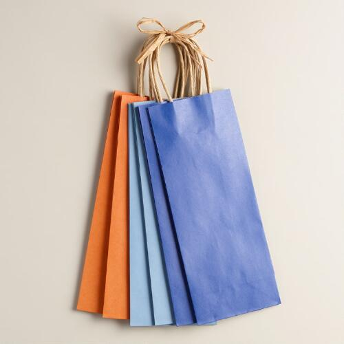 Kraft Wine Gift Bags, Set of 2