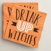 Drink Up Witches Beverage Napkins, 20-Count