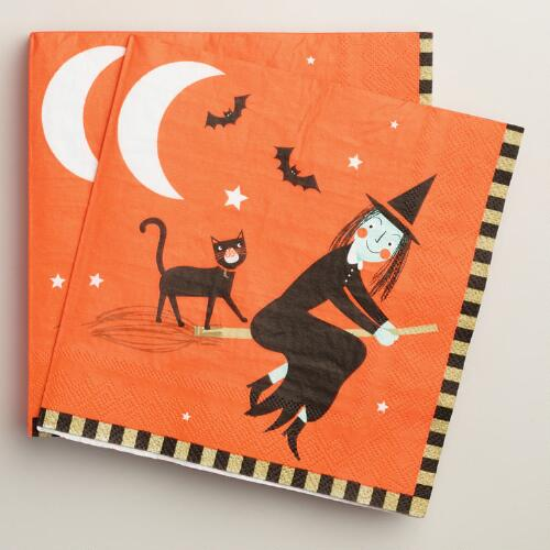 Halloween Lunch Napkins, 20-Count