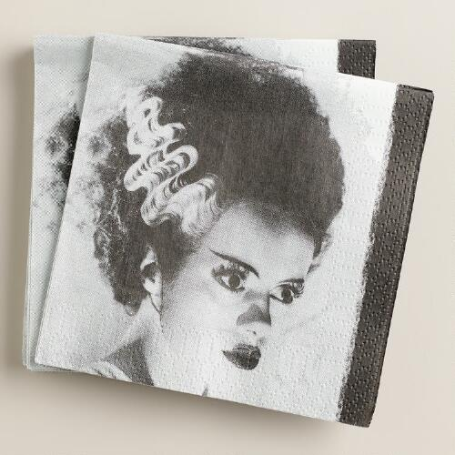 Bride  of Frankenstein Beverage Napkins, 20-Count