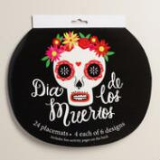 Day of the Dead Placemats, 24-Pack