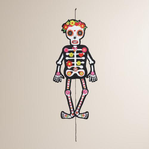 Day  of the Dead Dancing Skeleton