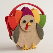 Felt Turkey Container