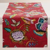 Floral Bird Natasha Table Runner