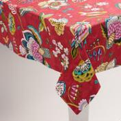 Floral Bird Natasha Tablecloth